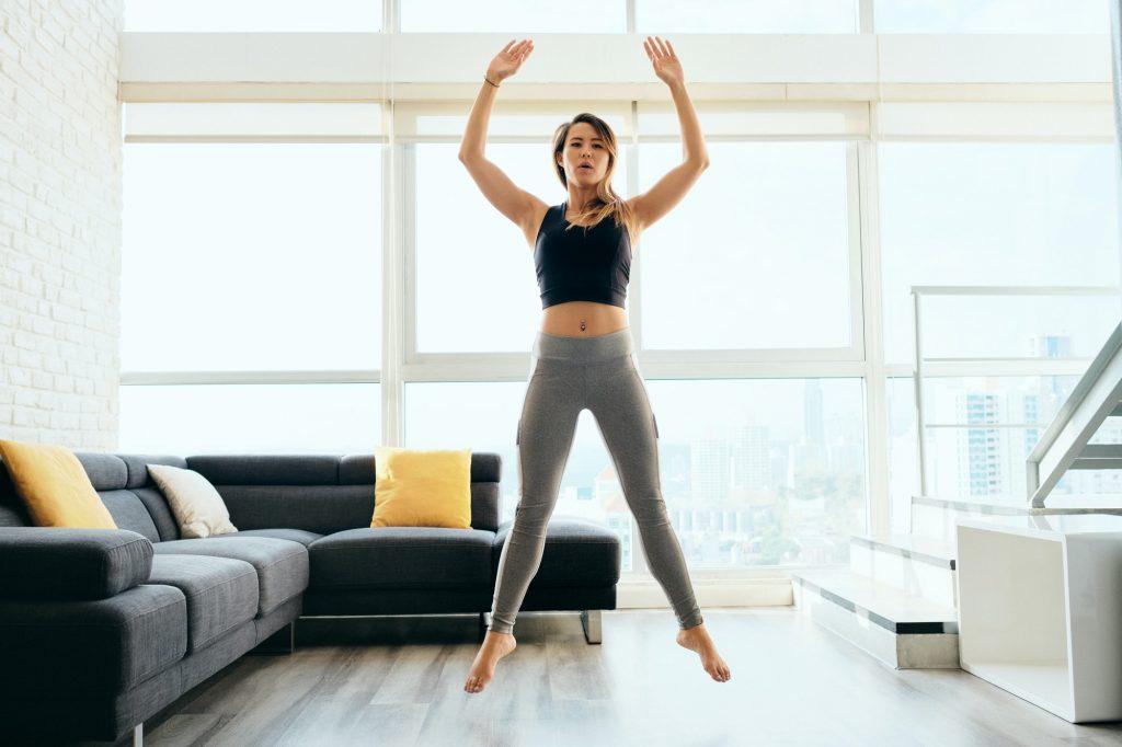 Exercícios para emagrecer em casa iniciante