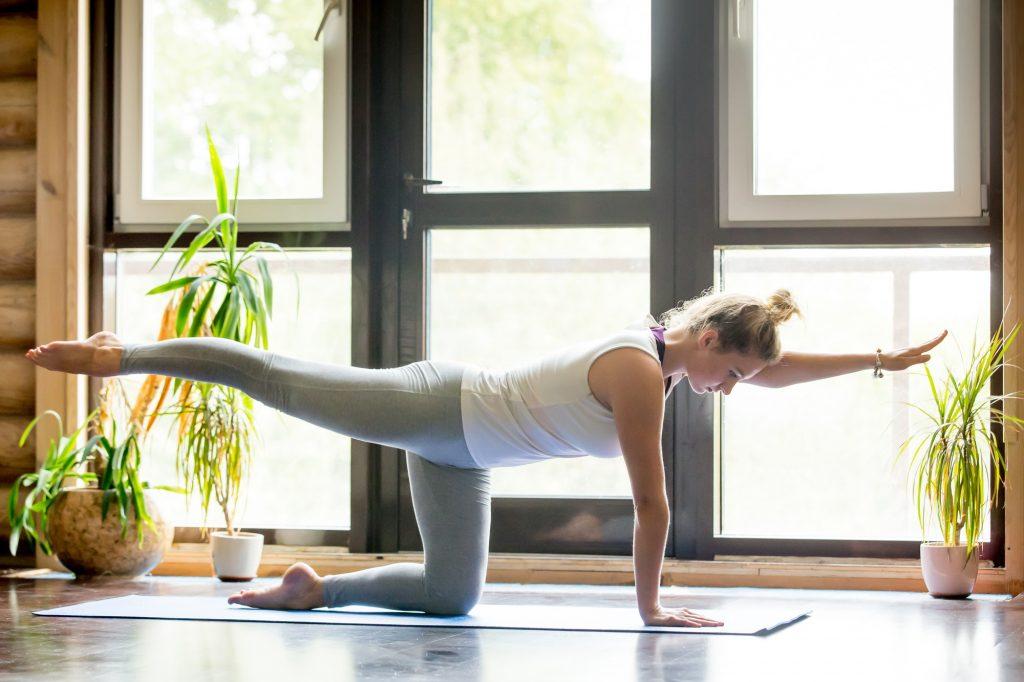 Yoga em casa