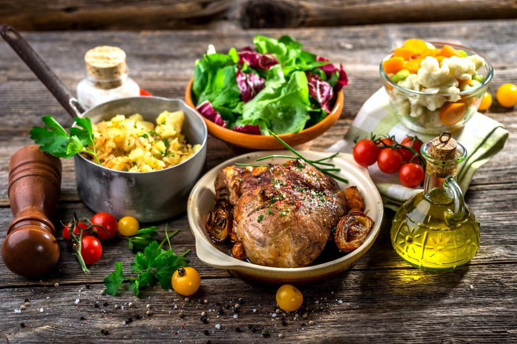 Dieta saudável e caseira para ganhar peso