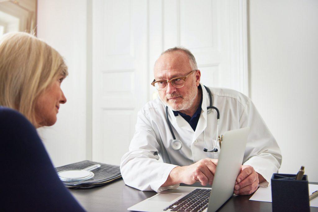 Exame médico para o primeiro treino