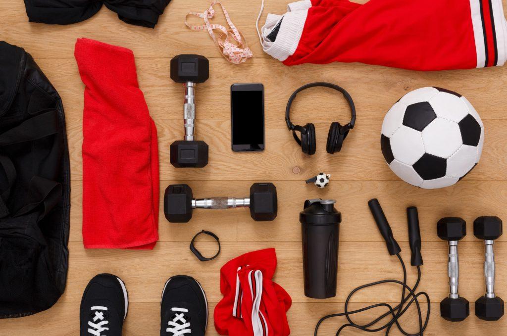 Equipamentos para fazer exercício em casa
