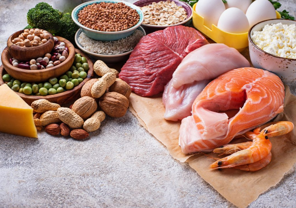 fontes alimentares de proteína